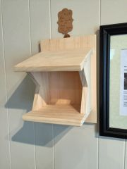 Nest Platform for Robins, Barn Swallow, and Phoebe