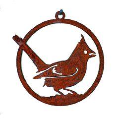 CO106 Cardinal 3-inch Ornament