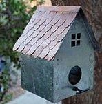 Cottage Bird House #3161