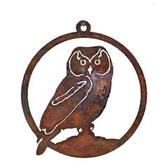 WO504 Owl 5-inch Ornament