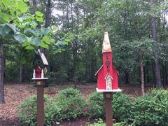 Large Church Birdhouse BH 134
