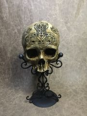 Thor Ceremonial Real Human Skull Replica Carved by Zane Wylie