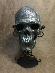 Judas Iscariot Real Human Skull Replica Carved by Zane Wylie