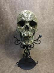 Vlad the Impaler Theme Real Human Skull Replica Carved by Michael Lee
