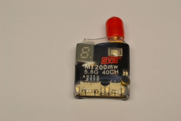DYS MI200mw 40ch ADJUSTABLE VIDEO TRANSMITTER