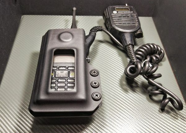 Motorola Xts 1500 Radio Holder: Remote Speaker Microphone