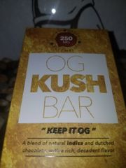 OG Kush Chocolate Bar 250 mg