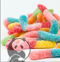 Sour Worms 400mg Per Bag