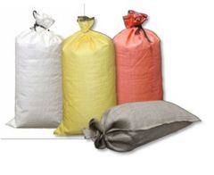 Filled Poly Gravel Bags (4000 HR/UV) - #5 Rock, Dumped
