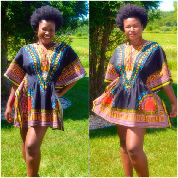 c7192b84588a Dashiki Mini Dress