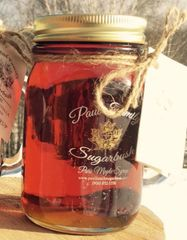 Pure Maple Syrup Glass Mug 16 oz/ 473 ml