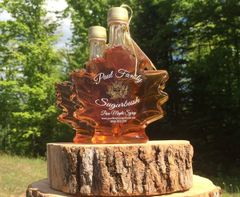 Pure Maple Syrup Leaf Bottle 8.5 oz/ 250 ml