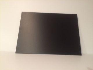 Black Sintra Poster Board- Tabletop Size