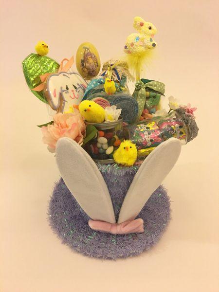 Easter egg basket easter bunny basket easter gift basket gifts easter gift basket of treats negle Gallery