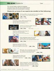 CLA PreScan Checklist (50 A4 Sheets)