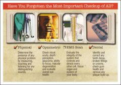 CLA sEMG Checkup Postcard