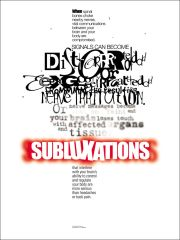 "Subluxation Poster (18"" x 24"")"