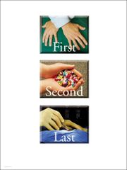 """Chiropractic First Poster (18"""" x 24"""")"""
