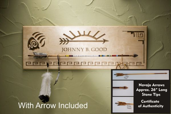 Arrow Of Light Plaque And Arrow Combination Personalized