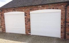 EG55 white roller electric garage door 7x7
