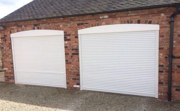 Eg55 White Roller Electric Garage Door 7x7 Easyglide