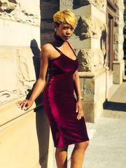 Pinot Noir Dress