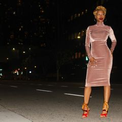Velvet Simplicity Dress