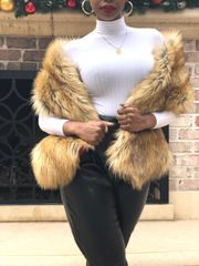 Fox Faux Fur Stole