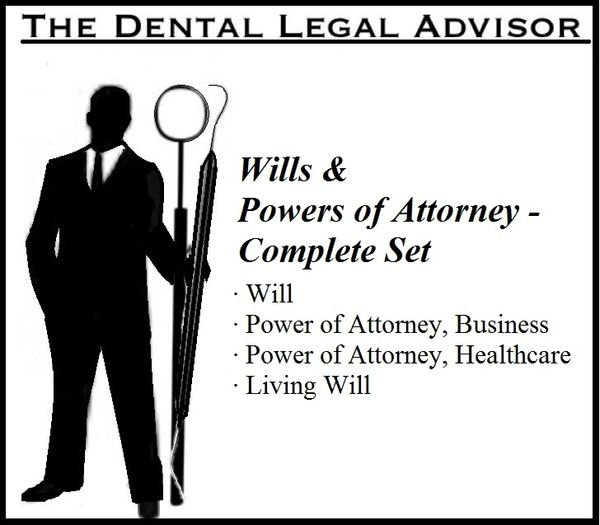 Wills & Powers of Attorney - Complete Set