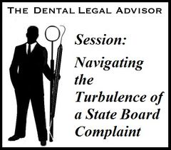 Session: Navigating the Turbulence of a State Board Complaint