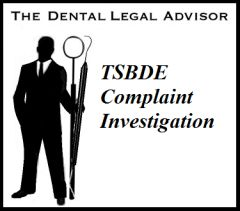 Responding to a TSBDE Complaint Investigation