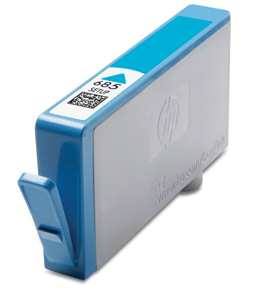 Dubaria 685 Cyan Ink Cartridge For HP 685 Cyan Ink Cartridge