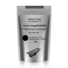 Dubaria Toner Powder For Use In Canon imageRUNNER iR Series Copier Printers - 1 KG Pouch