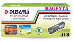 Dubaria 418 Magenta Toner Cartridge Compatible For Canon 418 Magenta Toner Cartridge
