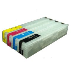Dubaria 971 XL Yellow Empty Refillable Ink Cartridge With Chip For HP 971 XL Yellow For Use In OfficeJet Pro X476dn MFP, X476dw MFP, X576dn MFP, X576dw MFP, X451dn, X451dw, X551dw Printers