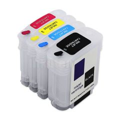 Dubaria Empty Refillable Cartridge For HP 8000 Printers Compatible With HP 940 All Four Colors