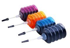 Dubaria Ink Refill Kit For HP 818 Black & 818 TriColor Ink Cartridge (Black, Cyan, Magenta, Yellow)
