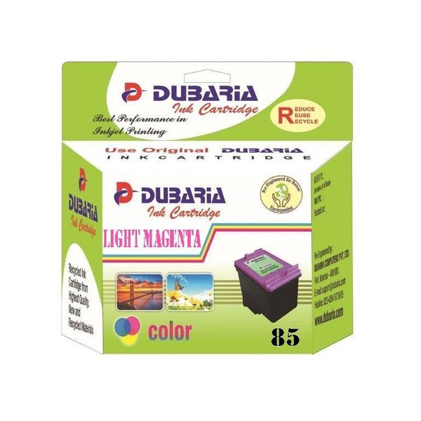 Dubaria 85 Light Magenta Ink Cartridge For HP 85 Light Magenta Ink Cartridge