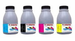 Dubaria Color Toner Powder For HP 202A, 204A, 205A Toner Cartridges - Black - 50 Grams; Cyan, Magenta Yellow - 40 Grams Each Bottle
