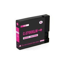 Dubaria 2700 XL Magenta Ink Cartridge Compatible For Canon PGI 2700 XL Magenta Ink Cartridge For Use In Canon Maxify IB 4080, IB 4070, IB 4170, MB 5070, MB 5080, MB 5370, MB 5470, MB 4075, MB 5170 Printer