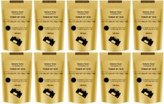 Dubaria SP 100 / SP 200 / SP 300 / SP 111 / SP 1200 / SP 3510 Toner Powder Compatible For Ricoh SP 100 Black Toner Pouch - Pack of 10 (100 Grams)