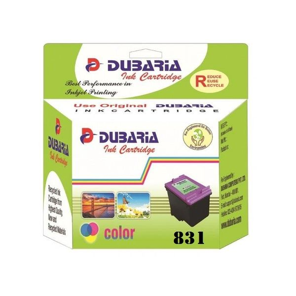 Dubaria 831 Tricolour Ink Cartridge For Canon 831 Tricolour Ink Cartridge