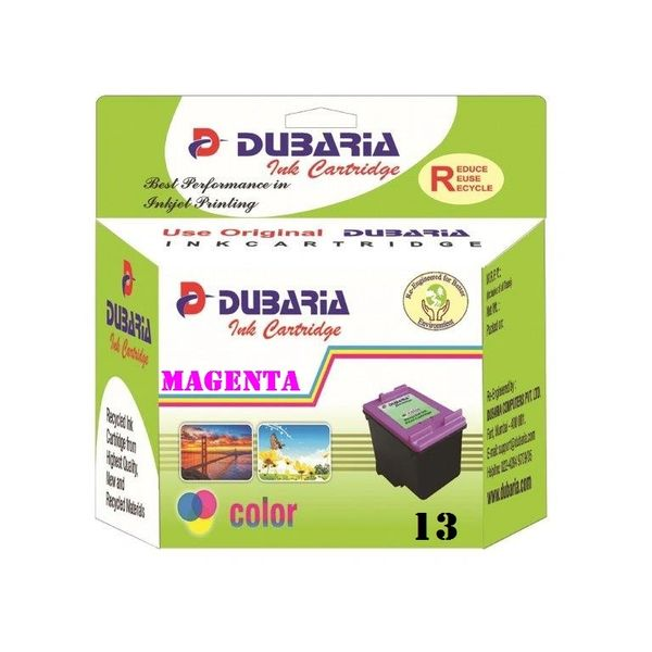 Dubaria 13 Magenta Ink Cartridge For HP 13 Magenta Ink Cartridge