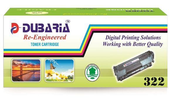 Dubaria 322 Black Toner Cartridge Compatible For Canon 322 Black Toner Cartridge
