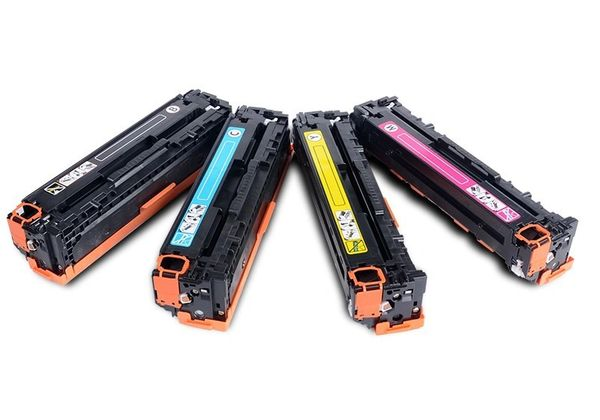 Dubaria 131A Toner Cartridge Bundle Combo Compatible For HP 131A - CF210A, CF211A, CF212A, CF213A For Use In HP Laserjet Pro 200 color M251n , M251nw , MFP M276n , MFP M276nw