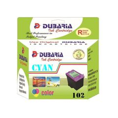 Dubaria 102 Cyan Ink Cartridge For Canon 102 Cyan Ink Cartridge