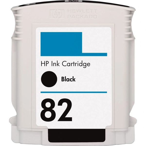 Dubaria 82 Black Ink Cartridge For HP 82 Black Ink Cartridge