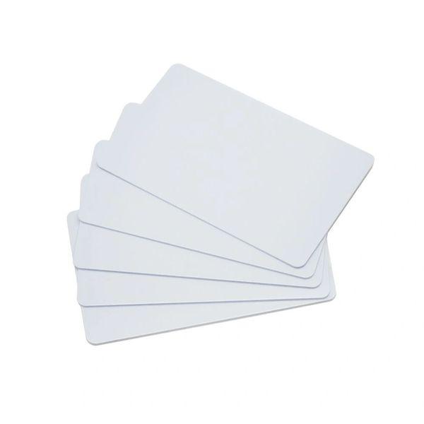 Dubaria Plain White PVC ID Cards For Epson L800, L805, L810, L850, R280, R290, T50, T60, P50, P60 InkJet Printers - Set of 100 Cards