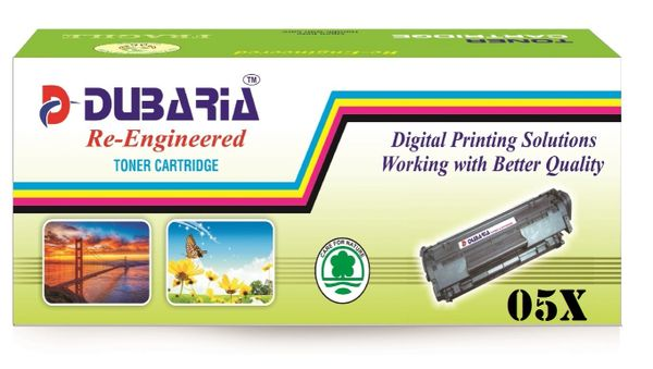 Dubaria 05x Toner Cartridge For HP 05X Black Toner Cartridge
