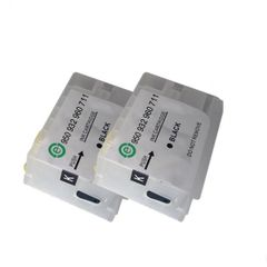 Dubaria Empty Refillable Cartridge For HP 3610 / 3620 Printers Compatible With HP 960 Black Ink Cartridge - Pack of 2